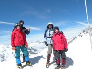Masivul Punta Gnifetti a devenit deja istorie pentru alpinistul sucevean Daniel Ioan Dănilă