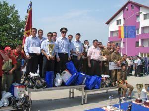Pompierii voluntari ai comunei Brodina, locul II la faza naţională