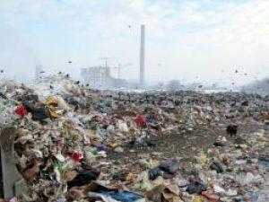 Groapa de gunoi la momentul închiderii sale - ianuarie 2009
