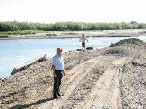 Podul ar putea fi deschis chiar astăzi sau cel târziu luni