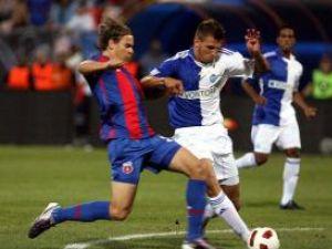 Steaua s-a calificat cu un noroc în faţa elveţienilor de la Grasshopper Zurich