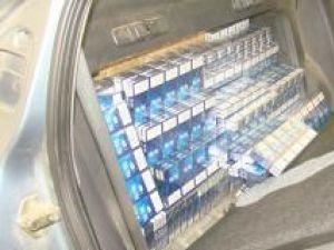 Traficul cu ţigări de contrabandă continuă