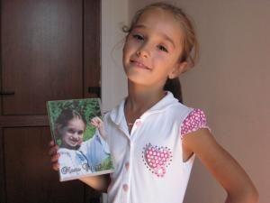 Marta Catargiu, fetiţa care vrea să devină vedetă