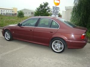 Autoturismul marca BMW, furat din Ungaria