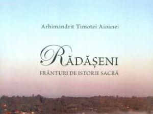 Lansare carte: Rădăşeni, frânturi de istorie sacră