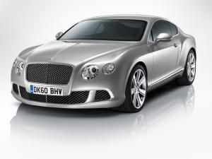Bentley Continental GT Coupe Facelift