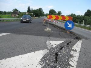 Probleme: Consolidarea DN 17 la Ilişeşti nu va fi finalizată în acest an