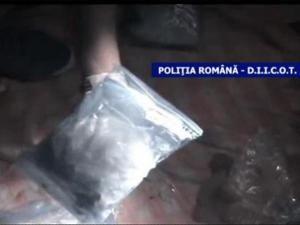 Cocaină de peste 60.000 de euro, ascunsă într-un colet expediat din Spania