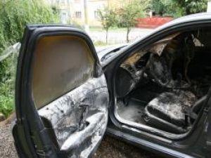 Maşina a fost distrusă în proporţie de 30%