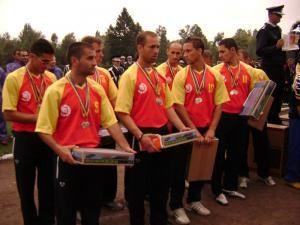 Pompierii ISU Suceava, locul II pe ţară la concursul serviciilor profesionale