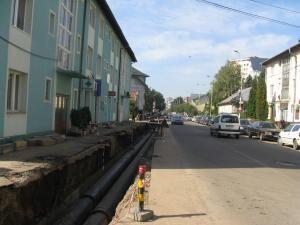 Montarea conductelor de termoficare pe străzile Mihai Viteazu şi Ciprian Porumbescu a fost finalizată sâmbătă
