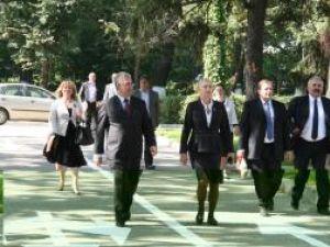 La inaugurare au fost prezenţi şi preşedintele CJ, Gheorghe Flutur, primarul Sucevei, Ion Lungu, şi deputatul PD-L Sanda-Maria Ardeleanu