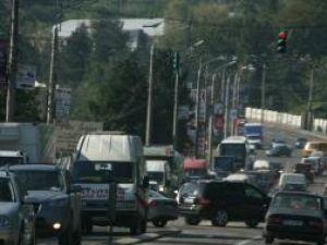 Calea Unirii s-a dovedit din nou a fi subdimensionată pentru condiţiile actuale de trafic