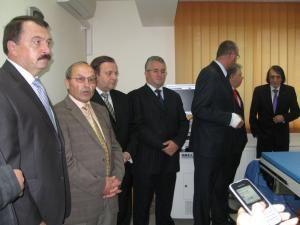 Aparatul, unic în Moldova, a fost inaugurat sâmbătă, în prezenţa oficialităţilor