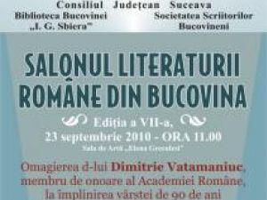 Ediţia a VII-a: Salonul Literaturii Române din Bucovina