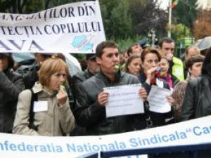 Protest: Numărul bugetarilor suceveni nemulţumiţi nu ajunge nici la 150
