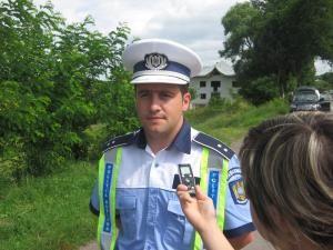 Florin Poenari, împuternicit la comanda poliţiei municipiului reşedinţă de judeţ