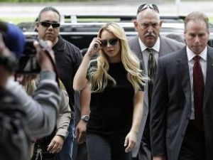 Lindsay Lohan, convocată la tribunal după un test antidrog pozitiv