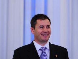 Traian Igaş: Voi fi un ministru activ, un ministru şi un coleg bun pentru toţi dintre dumneavoastră. Foto: MEDIAFAX