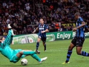 Eto'o a reuşit tripla pentru Inter