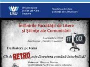 """Dezbatere: """"Cât de retro este literatura română interbelică?"""""""