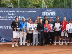 Alexandru Marasin (ultimul din dreapta) a urcat pe podiumul Campionatului Naţional