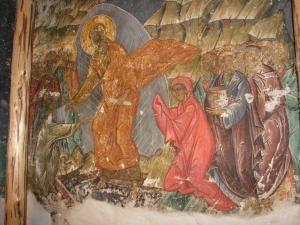 Frescă de valoare inestimabilă, descoperită la Biserica din Pătrăuţi
