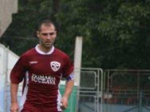 Mircea Negru, cel mai important jucător al Rapidului, va lipsi la meciul de astăzi