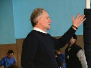 Antrenorul Victor Pancu speră într-un rezultat bun în jocul de mâine de la sala LPS