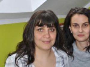 Emilia Crîşmariu, logoped, şi Mihaela Zaharia, psiholog