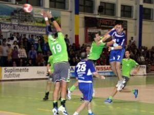 Echipa locală de handbal Universitatea Suceava a coborât în clasament până pe locul şase