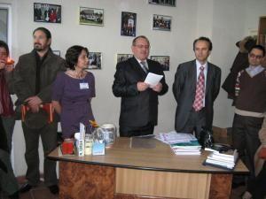 Constantin Arcu, preşedintele SSB, la deschiderea festivităţii de decernare a premiilor