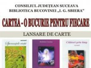 """Biblioteca Bucovinei: """"Cartea - O bucurie pentru fiecare"""""""