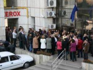 Protest: Miting spontan al finanţiştilor suceveni