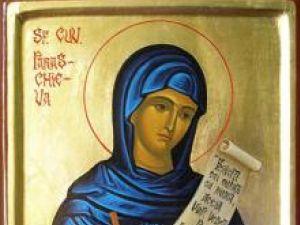 În fiecare an, la 14 octombrie, Biserica Or¬todoxă de pretutindeni prăznuieşte pe Cuvioasa Maică Parascheva