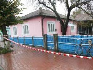 Casa în care s-au petrecut şocantele fapte