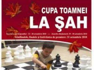 A II-a ediţie: Cupa Toamnei la Şah