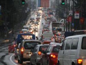 Blocaje în trafic pe Calea Unirii