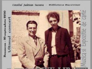"""Expoziţie de carte: """"In memoriam Dinu Lipatti"""""""
