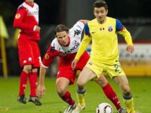 Steaua a smuls un punct în Olanda după un joc prost