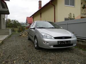 Maşina marca Ford Focus, cu care Gheorghe Ciornei nu mai poate circula