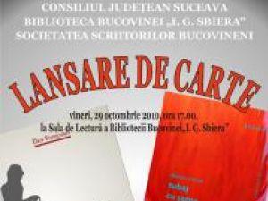 La Biblioteca Bucovinei: Dublă lansare de carte