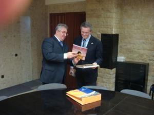 Preocupare: Consulul general al Ambasadei SUA, în vizită oficială la Suceava