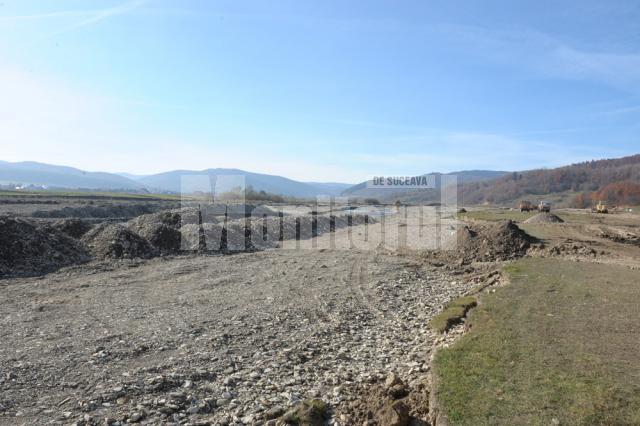 Lucrare: Digul de protecţie de pe pârâul Suceviţa va fi gata în noiembrie