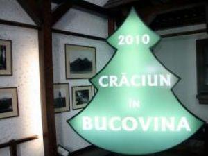 """Promovare: Brăduţi publicitari luminoşi în localităţile implicate în proiectul """"Crăciun în Bucovina"""""""