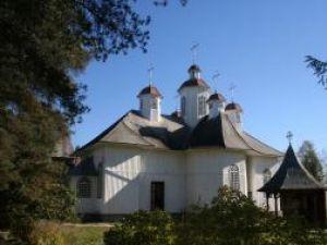 Biserica cu hramul Sf. Arh. Mihail şi Gavril din Poiana Stampei