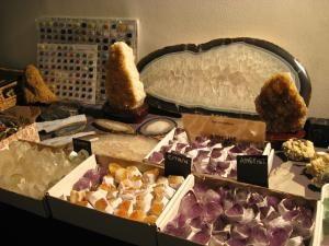 """Expoziţia """"Mineralia"""", la Muzeul de Ştiinţele Naturii"""