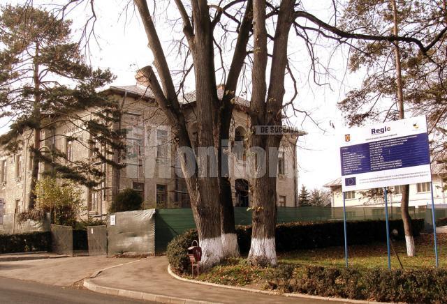 """Muzeul de Artă """"Ion Irimescu"""" din Fălticeni, în reabilitare"""
