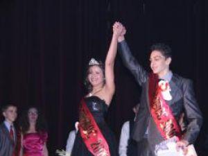 """Diana Daniliuc şi Richard Bodnarescu, Miss şi Mister 2010 """"Eudoxiu Hurmuzachi"""""""