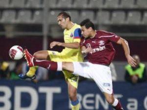 Deşi atât Rapid cât şi Steaua au avut ocazii, meciul s-a încheiat fără goluri